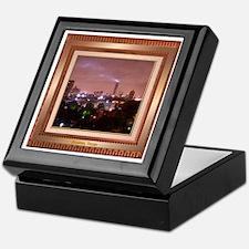 Houston Skyline #4 Keepsake Box