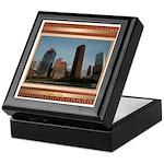 Houston Skyline #2 Keepsake Box