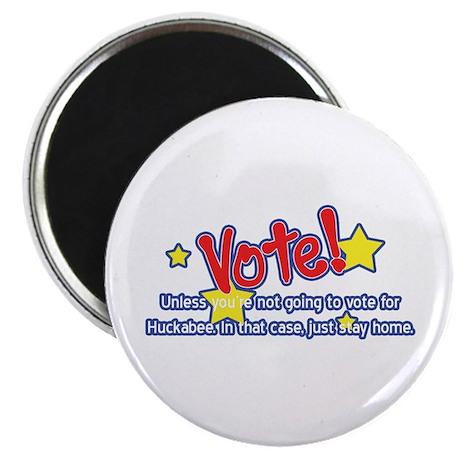 Vote for Huckabee Magnet