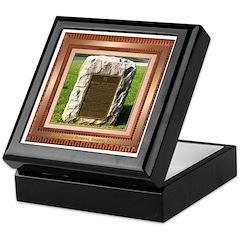 Sam Houston Memorial Keepsake Box