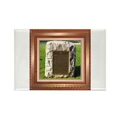 Sam Houston Memorial Rectangle Magnet
