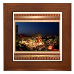 Crawfish Festival Framed Tile