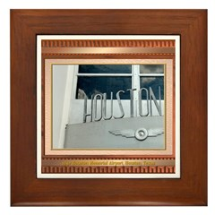 1940 Airport #2 Framed Tile