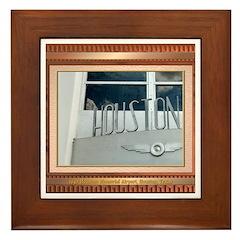 1940 Airport #2 Framed Tile