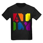 Ally Pop Kids Dark T-Shirt