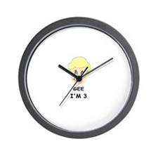 GEE IM 3 Wall Clock