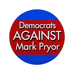 Democrats Against Mark Pryor Big Button