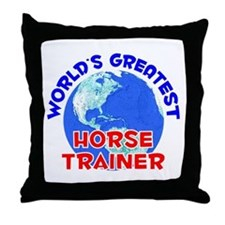 World's Greatest Horse.. (E) Throw Pillow