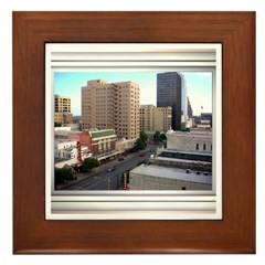 Austin Skyline #3 Framed Tile