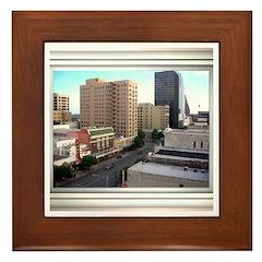 Austin Skyline #3 Framed Tile