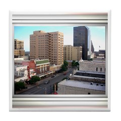 Austin Skyline #3 Tile Coaster