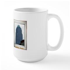 Austin Skyline #2 Large Mug