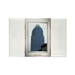 Austin Skyline #2 Rectangle Magnet