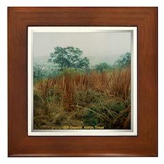 Hill Country Framed Tile
