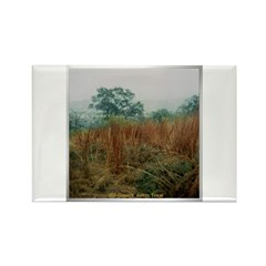 Hill Country Rectangle Magnet