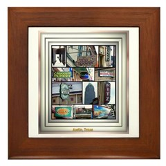 Austin Collage Framed Tile