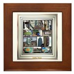 Austin Collage Framed Tile