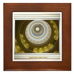 Capitol Dome Framed Tile