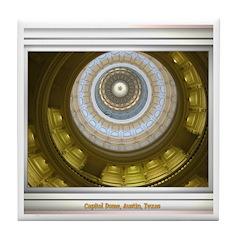 Capitol Dome Tile Coaster