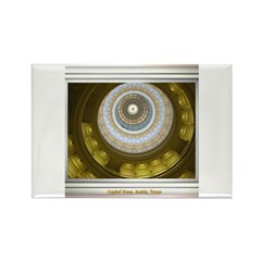 Capitol Dome Rectangle Magnet
