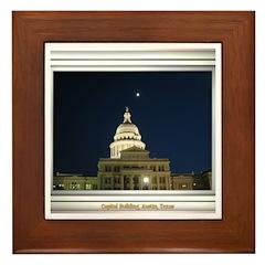 State Capitol #4 Framed Tile