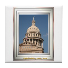 State Capitol #3 Tile Coaster