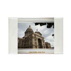 State Capitol #2 Rectangle Magnet