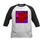 Be My Valentine Kids Baseball Jersey