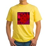 Be My Valentine Yellow T-Shirt