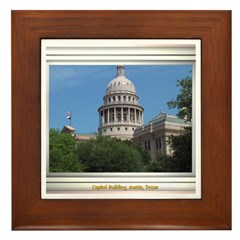 State Capitol #1 Framed Tile