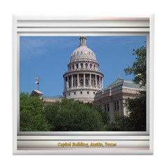 State Capitol #1 Tile Coaster