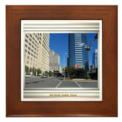 6th Street Framed Tile