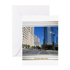 6th Street Greeting Card