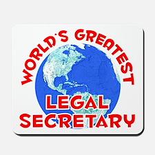 World's Greatest Legal.. (F) Mousepad