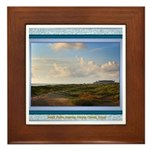 South Padre Island Framed Tile