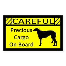 Precious Cargo Scottish Deerhound Sticker (Rect)