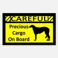 Precious Cargo Scottish Deerhound Sticker (Rect)