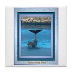 Dolphin Tile Coaster