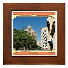 El Paso #1 Framed Tile