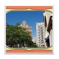 El Paso #1 Tile Coaster