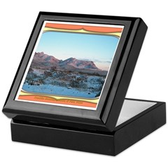 Frankline Mountain Sunrise Keepsake Box
