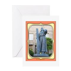 El Paso Founder Greeting Card