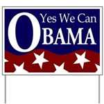 Obama: Yes We Can Yard Sign