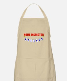Retired Home Inspector BBQ Apron