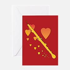English Horn Heartsong Greeting Card