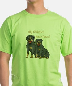 My Children Are Rottweilers T-Shirt