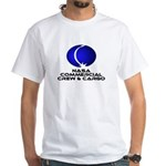 COTS - Commercial Crew & Cargo White T-Shirt