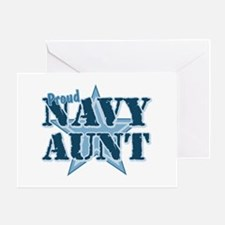 Proud Navy Aunt Greeting Card