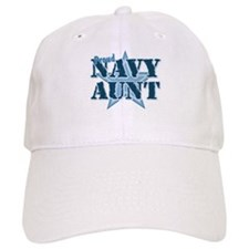 Proud Navy Aunt Baseball Cap