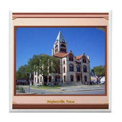Stephenville Tile Coaster